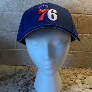 Philadelphia 76ers Adjustable Baseball Style Cap